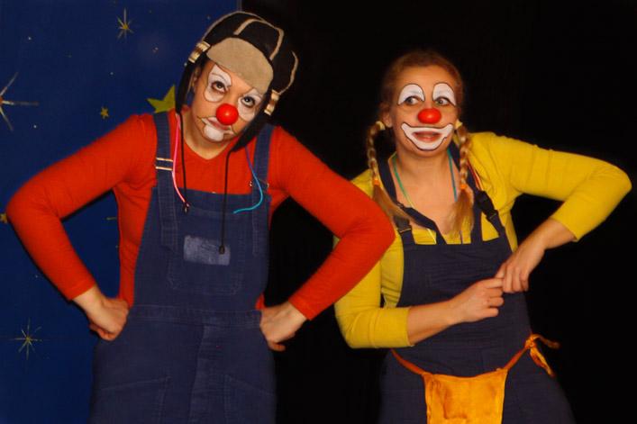 Clown in viaggio
